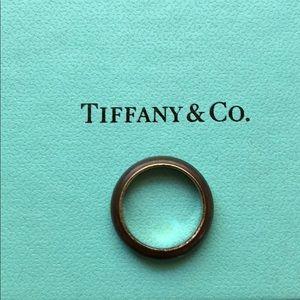 Tiffany & co Elsa peretti silver ring band
